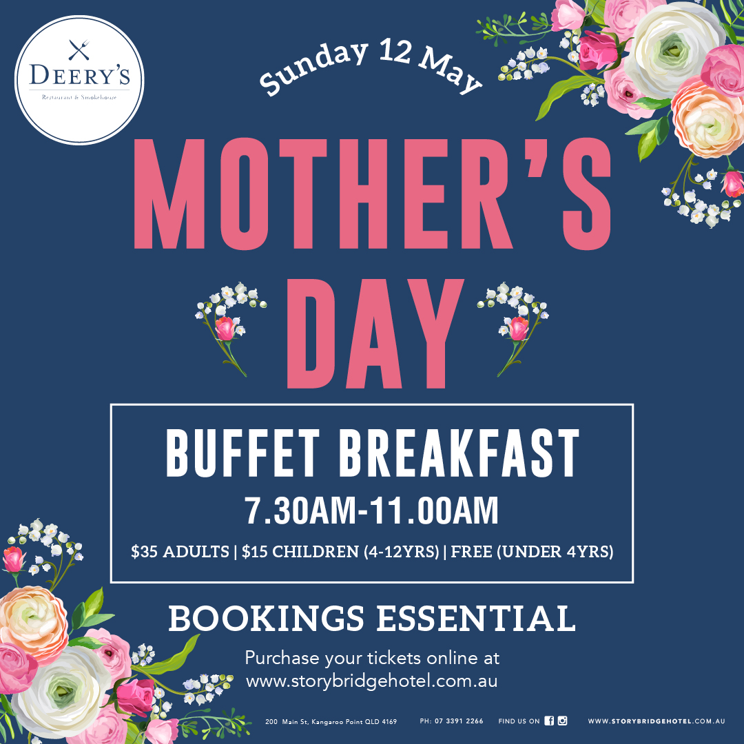 Mother's Day Buffet Breakfast 2019 Children 4-12