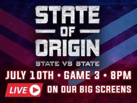 State of Origin Game 3 - The Story Bridge Hotel