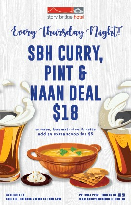 SBH Curry pint and naan deal